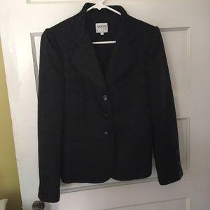 Armani Collezioni Black Blazer Wool Antinea 6